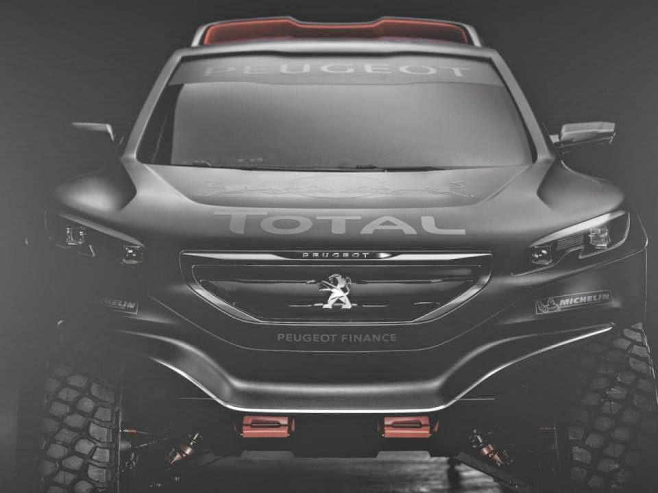 2015 New Monster Peugeot 2008 DKR Dakar Rally