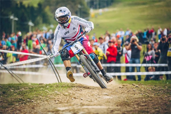 2014 Hafjell UCI World Championship Downhill: Race Highlights
