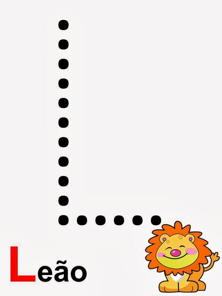 alfabeto leão