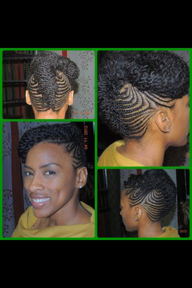 Tresses cheveux cr pus - Nattes collees modeles ...