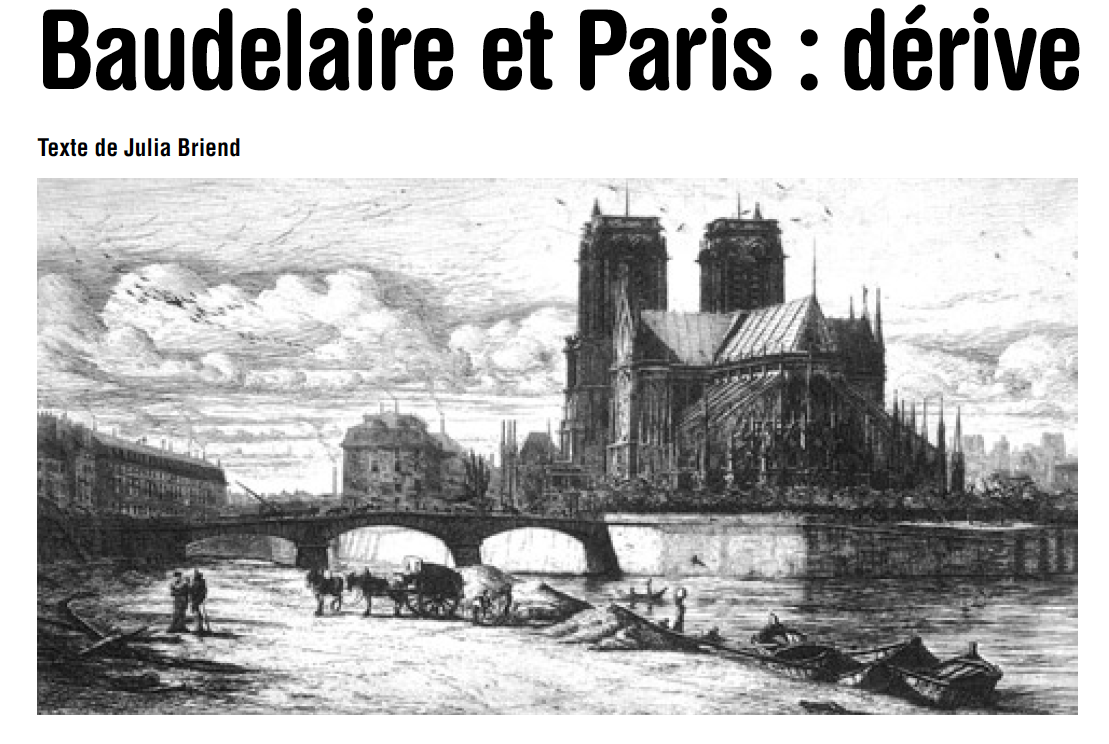 BachiBac IES Drago - 2011/2013: Baudelaire et Paris : dérive