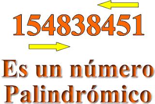 Curiosidades numéricas, Curiosidades de números, Palíndrome, Palindrómico, Números Palindrómicos