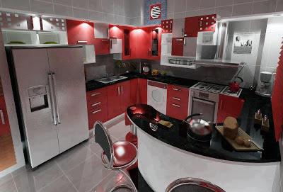 Cozinha - imagens para se inspirar e dar um up na sua ou para montar a sua primeira