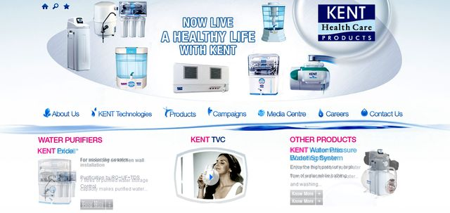 water filtration systems home by kent.co.in