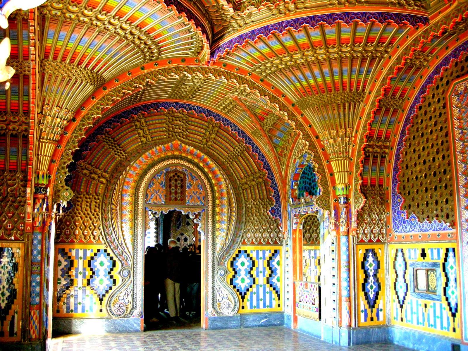 Reggello Italy  City new picture : Castello Samezzano Sala dei pavoni | Interiors and Favorite Design ...