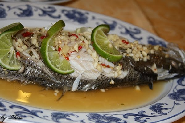 how to make white sauce for steamed fish