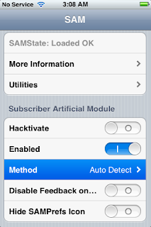 how to use sam to unlock iphone