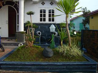 Taman Minimalis Sederhana on Taman Depan Rumah Minimalis   Tukang Taman