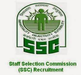 SSC Northern Region Recruitment of Group 'B' Non Gazetted Posts 2014