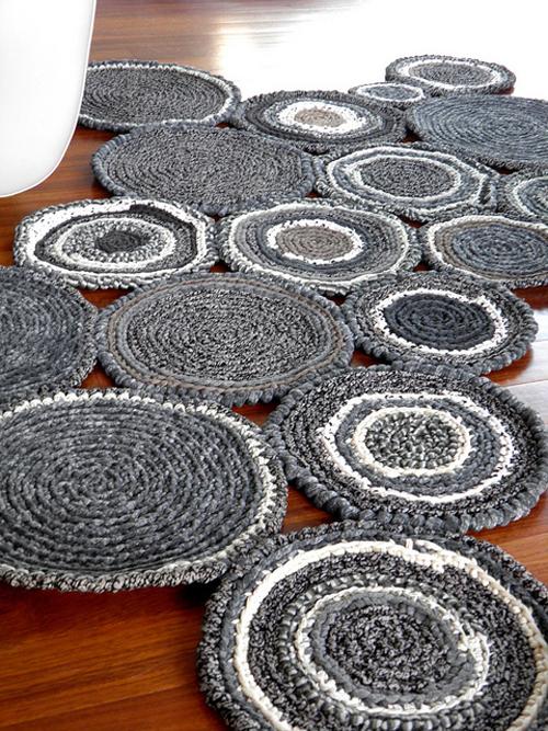 Lalole blog alfombras de crochet - Alfombras de trapillo originales ...
