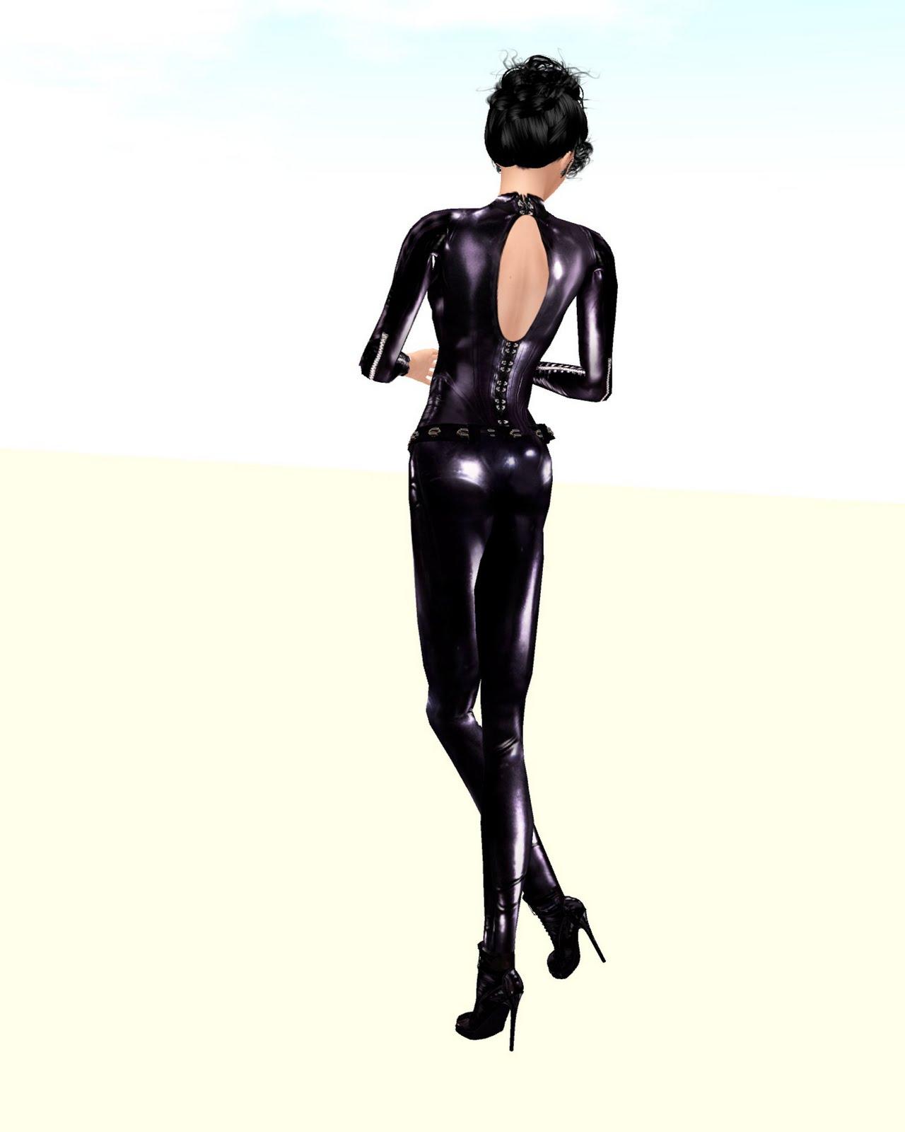 latex suit