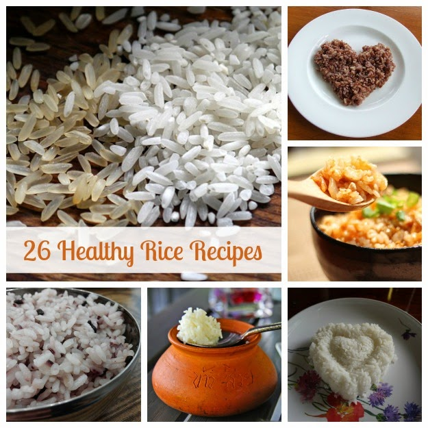 Healthy Rice Recipes | Becky Cooks Lightly #rice