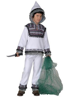 Eskimo udklædning