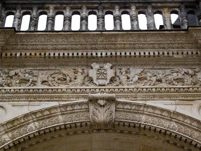 Pórtico de entrada del Chateau (castillo) de Pau