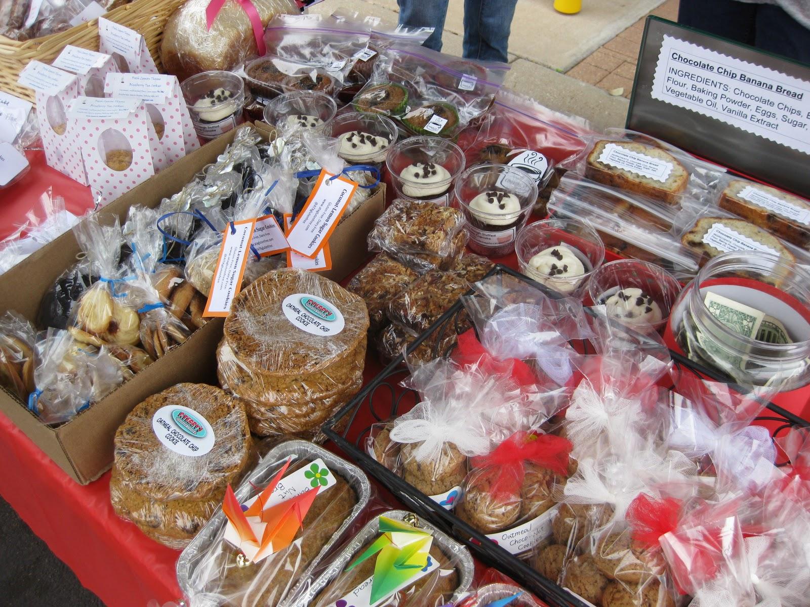 unique bake sale items