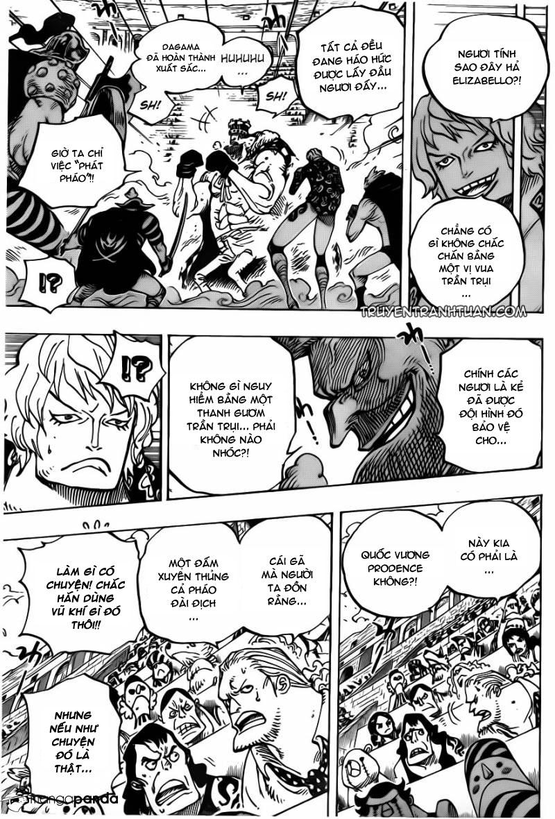 One Piece chap 709