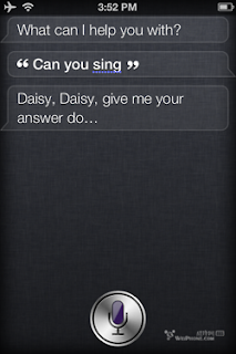 Siri: Can you sing?