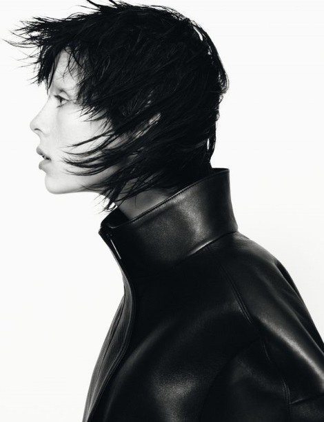 Edie Campbell for Jil Sander Fall 2013 Campaign