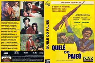 QUELÉ DO PAJEÚ - FILME NACIONAL - RARÍSSIMO