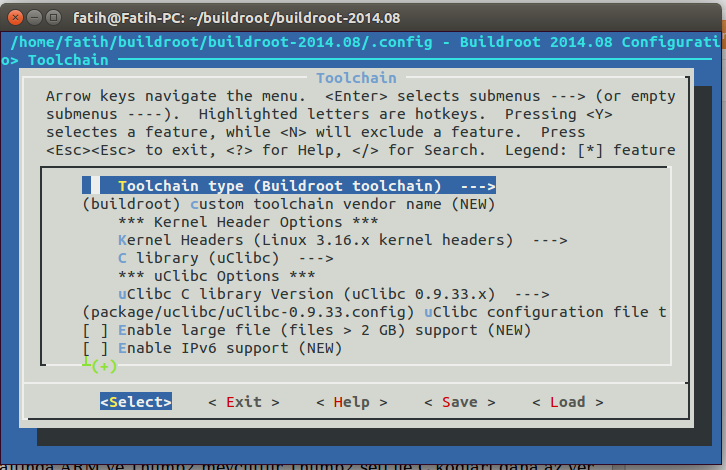 Embedded application binary interface