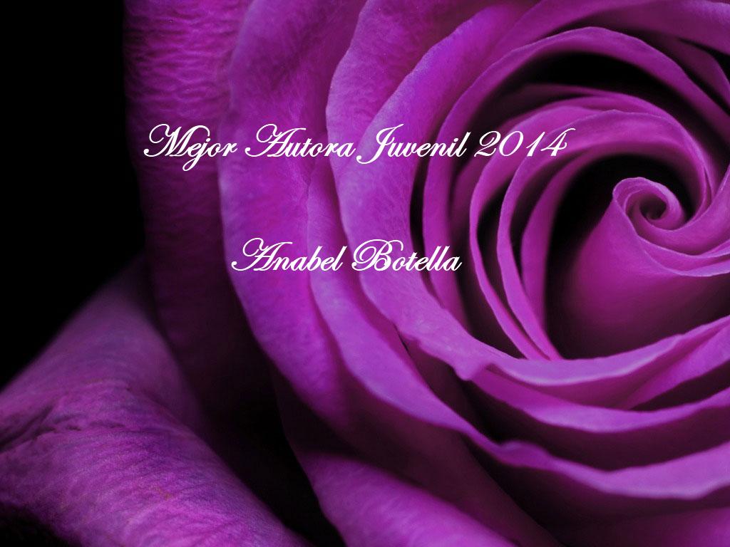Premio Púrpura mejor autora juvenil 2014