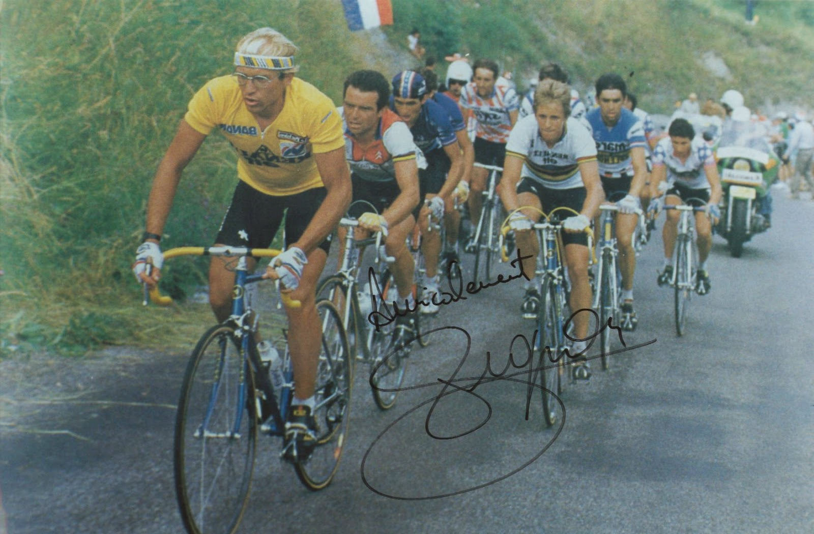 1984 Tour de France 80s heroes, instantly recognisable