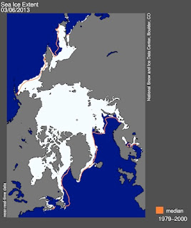 Arctic Sea Ice Extent - February