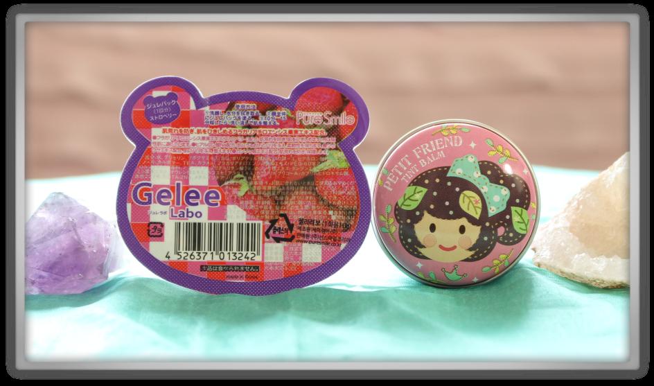 겟잇뷰티박스 by 미미박스 memebox beautybox Collaboration Box #2 CutiePieMarzia unboxing review preview pure smile gelee strawberry shara petit balm crown