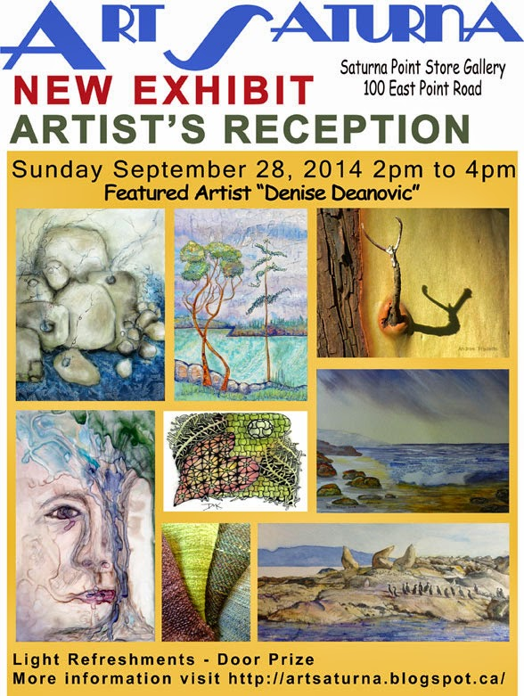 ArtSaturna October 2014 Show Featuring the Work of Denise Deanovic
