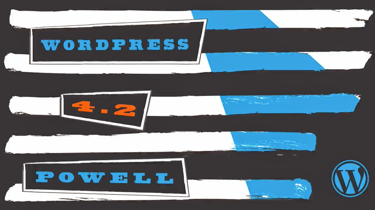 Welcome to WordPress 4.2. Let's take a look! Banner
