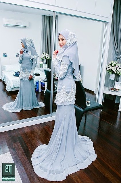 15 Gambar sekitar perkahwinan Erin Malek dan Fairuz Fauzy
