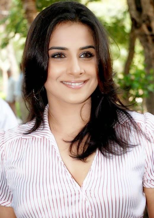 Vidya Balan Hot Tight Shirt Buttons Open Hot Big Cleavage Hot Pics