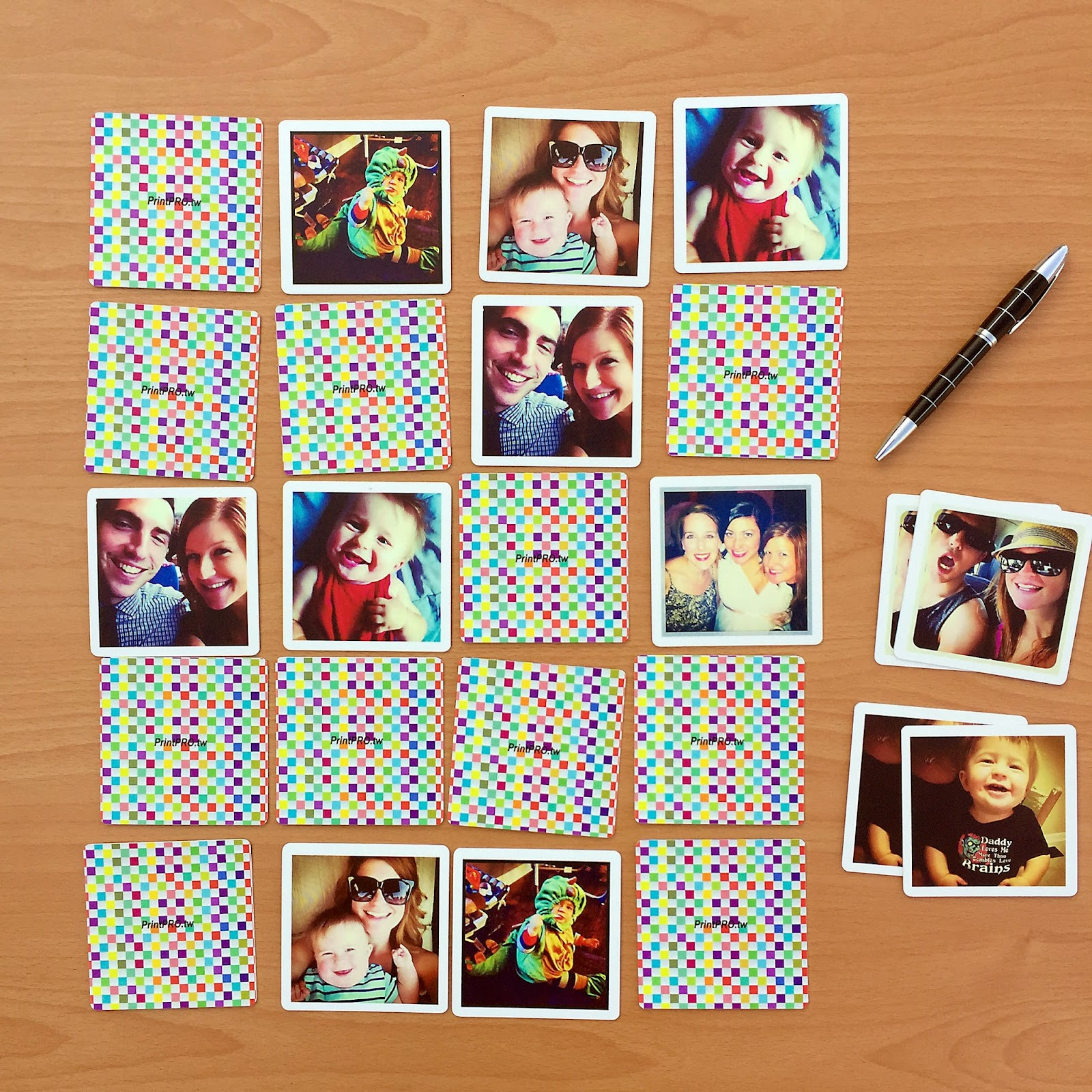 memory game  waterproof  for instagram -photo gift