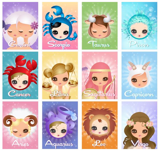 Cute Horoscope Zodiacs Characters: Anime big doe eyes horoscope