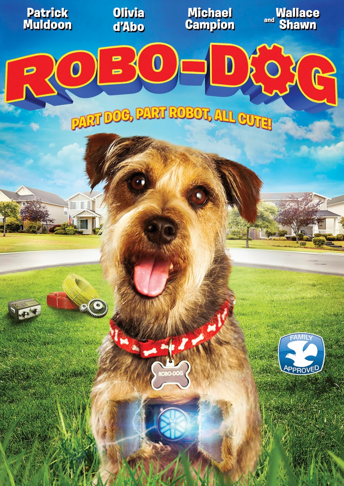 a lucky ladybug robodog dvd review and giveaway