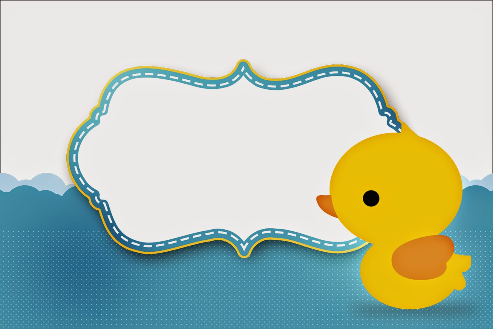 Rubber Ducky: Free Printable Invitations. | Is it for ...