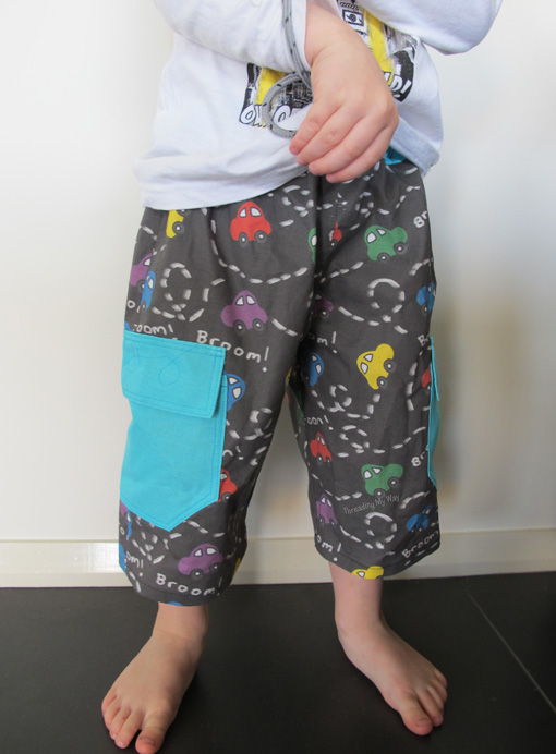 Going Coastal Long Shorts... Pattern Review ~ Threading My Way