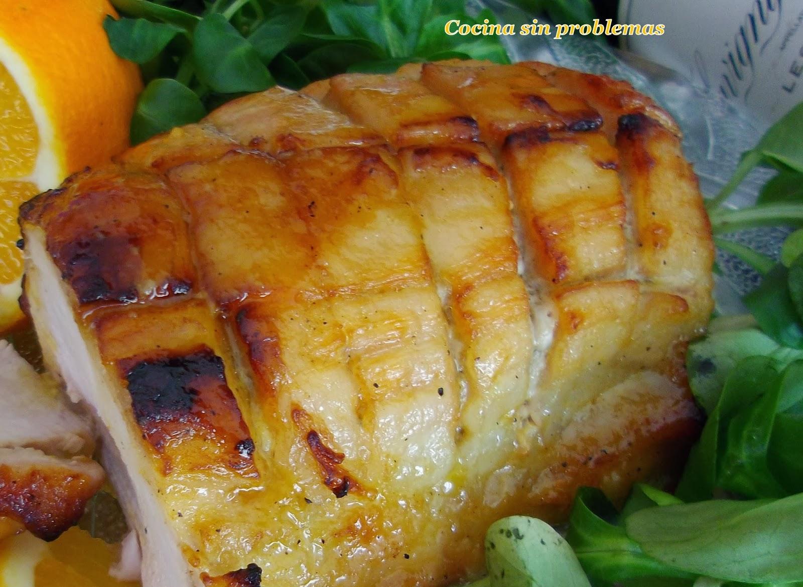 Cocina sin problemas cerdo al horno glaseado - Cocina al horno ...