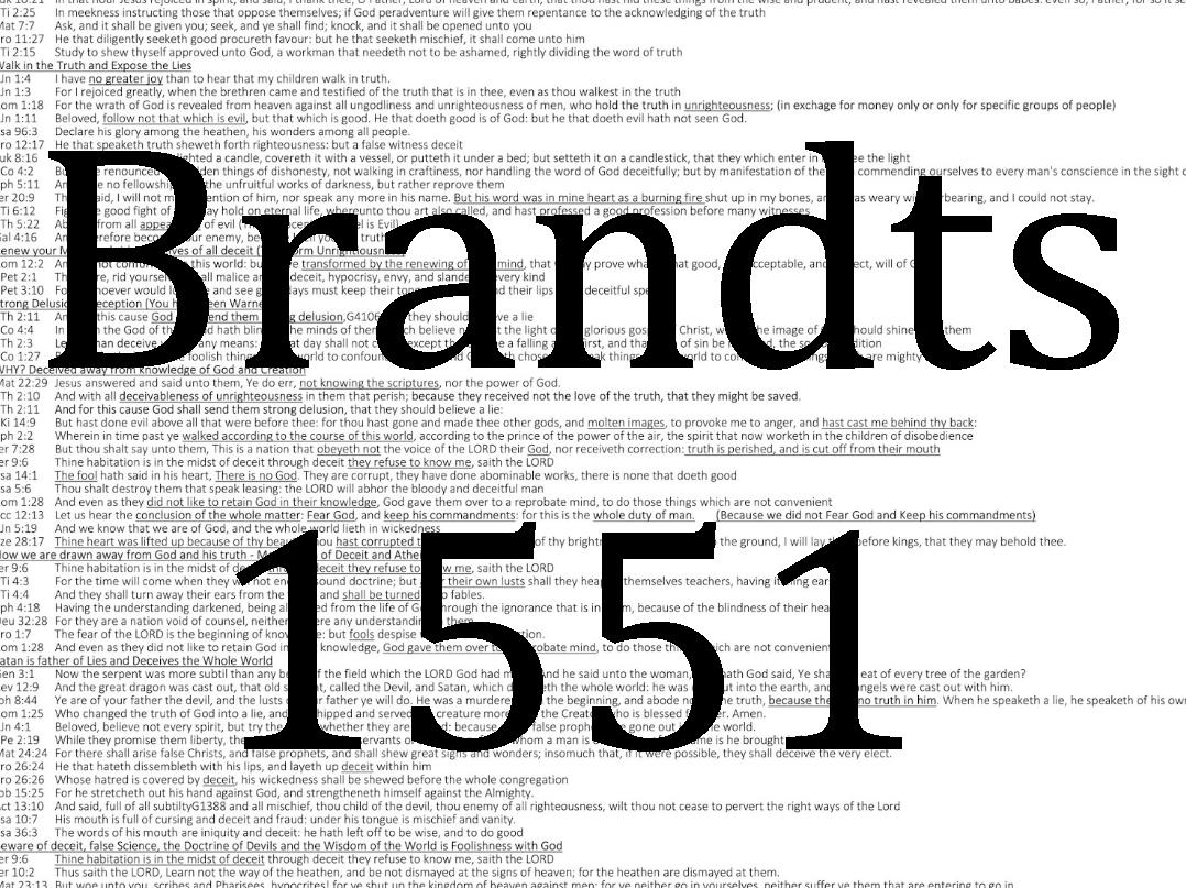 1551 FE Scriptures