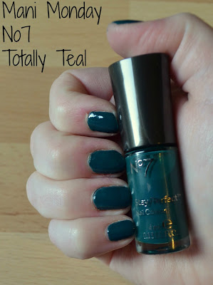 Mani Monday No7 Totally Teal