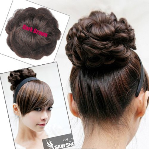 Kitchenkurls hair extension options sock bun you can put a sock bun to use with your own hair you put your hair into a ponytail and pull your hair through the hole of the sock bun pmusecretfo Images