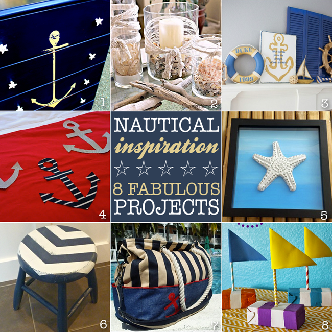 Nautical inspiration and inspiration monday refresh restyle for Nautical projects