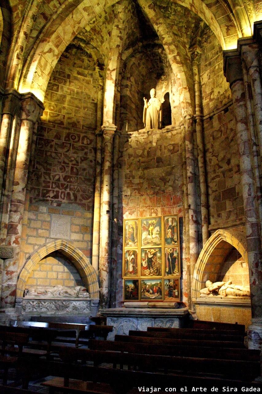 Capilla Asunción Girola catedral Ávila