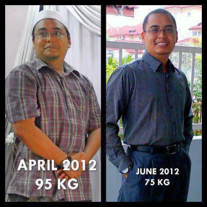 turun berat badan 5 kg dalam 1 minggu