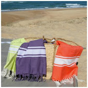 Original Fouta Of selekta, Tunisian beach towel