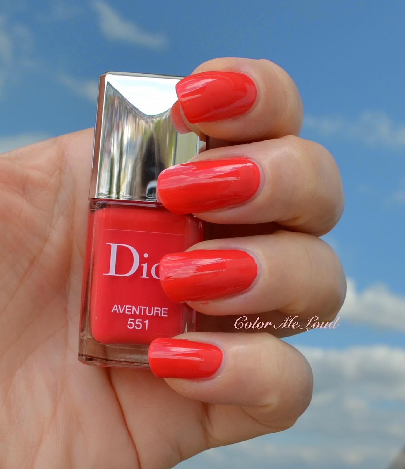 Dior Vernis 575 Wonderland 551 Aventure 338 Mirage 853 Massai