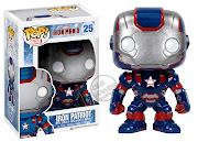 Oh.that lovable, huggable multimillionaire Tony Stark.is about to get . (funko iron man iron patriot pop vinyl figure)
