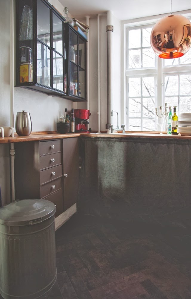 ... di fare una scelta, cucina e soggiorno insieme in un unico ambiente