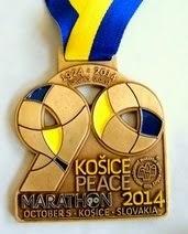 32. Medzinárodný maratón mieru, Košice 5.10.2014 :-)