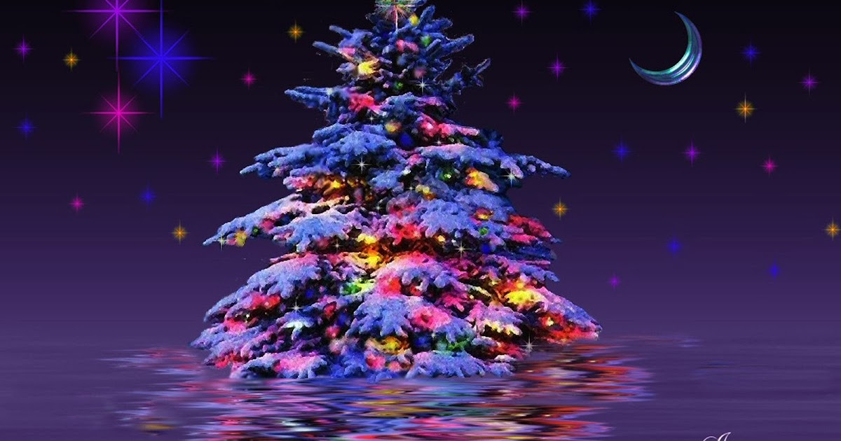 TATOOS ARMY: 3d Christmas Tree For Desktop HD Wallpaper Free